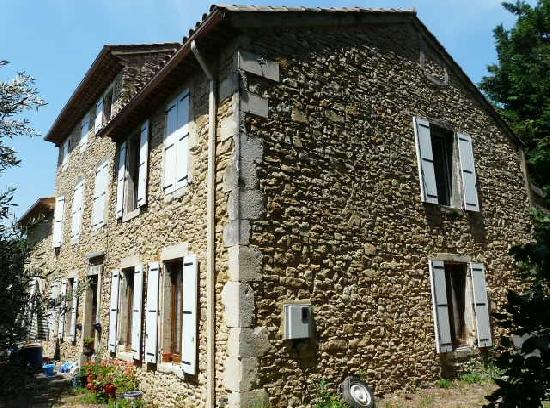 Vente maison en pierre gard mas a renover restaurer gard codolet bagnols - Maison a renover en guadeloupe ...